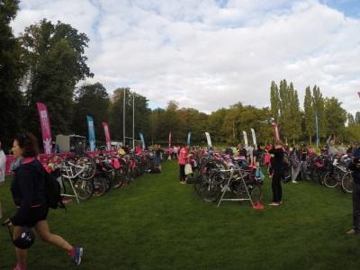 Le triathlon des roses