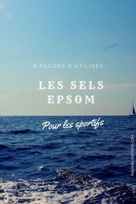 Les sels d'Epsom