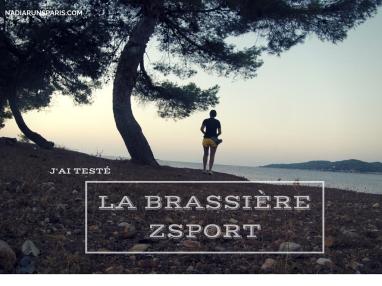 J'ai testé La Brassière ZSPORT