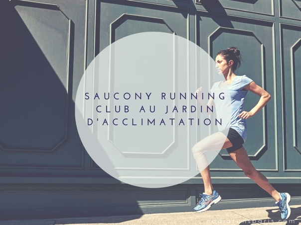 saucony running club au jardin d acclimatation. Black Bedroom Furniture Sets. Home Design Ideas