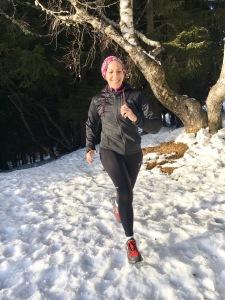 Montagne running ski