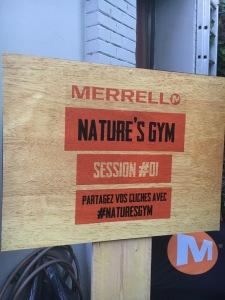Nature's Gym avec Merell