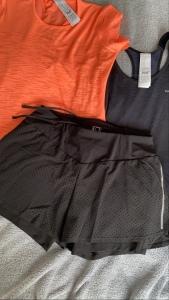 Short running 2 en 1 Kiprun