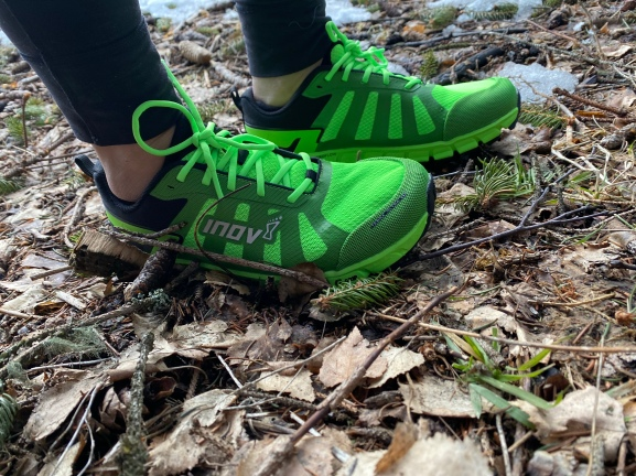 Inov'8 test Nadia Runs Paris