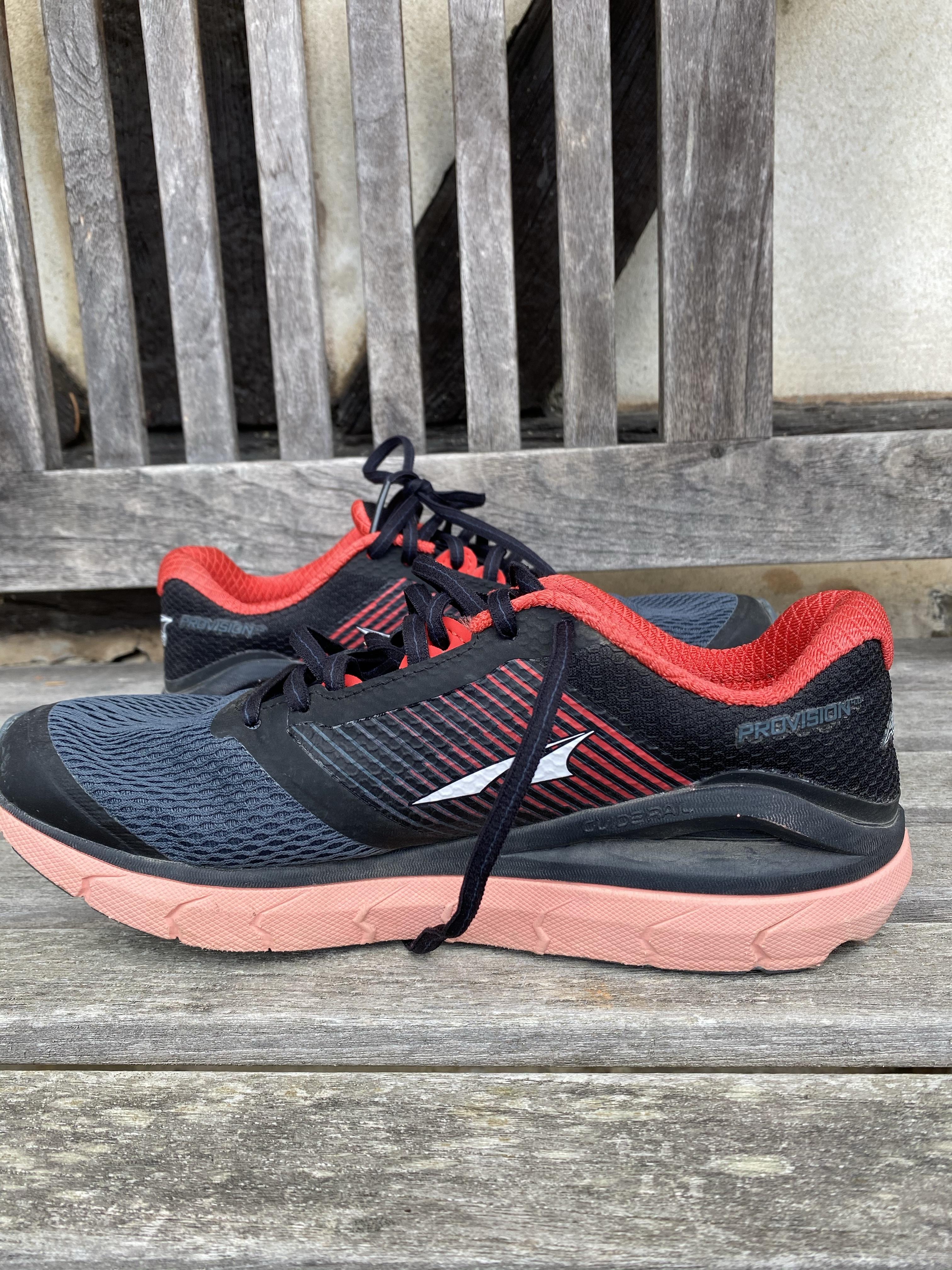 Test des chaussures running femme  Altra Provision 4