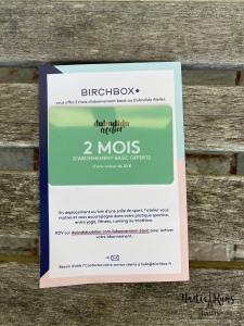 Édition limitée BirchBox x Anne Dubndidu
