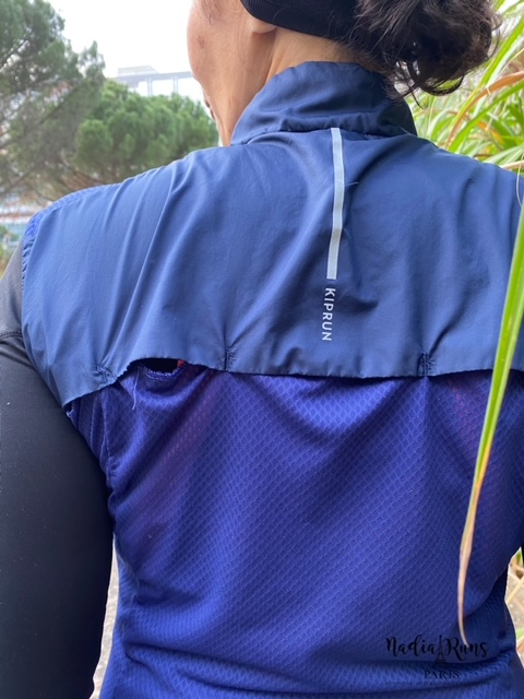 Test de la veste Kiprun Light sans manche