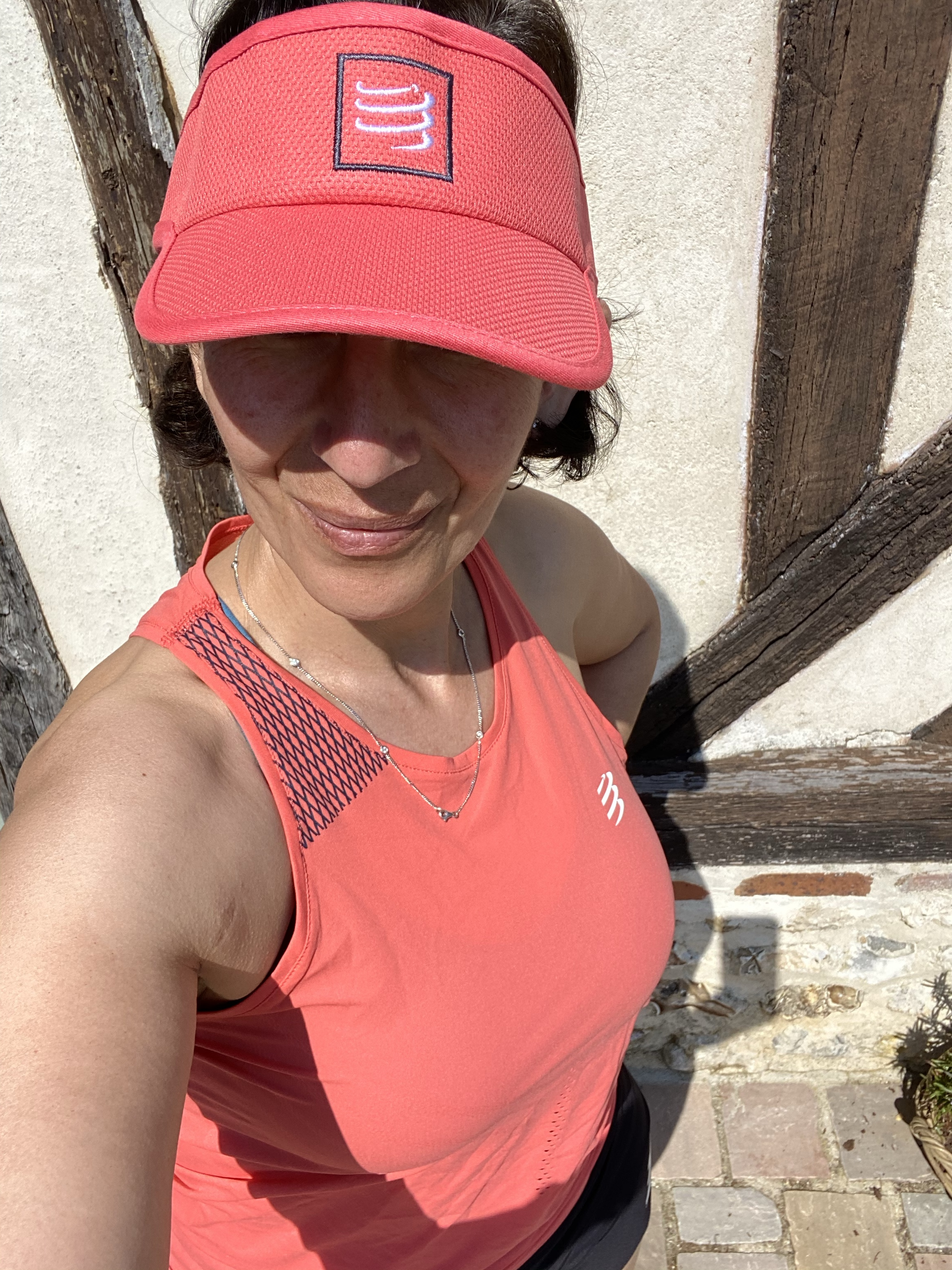 Visière test Compressport Running femme