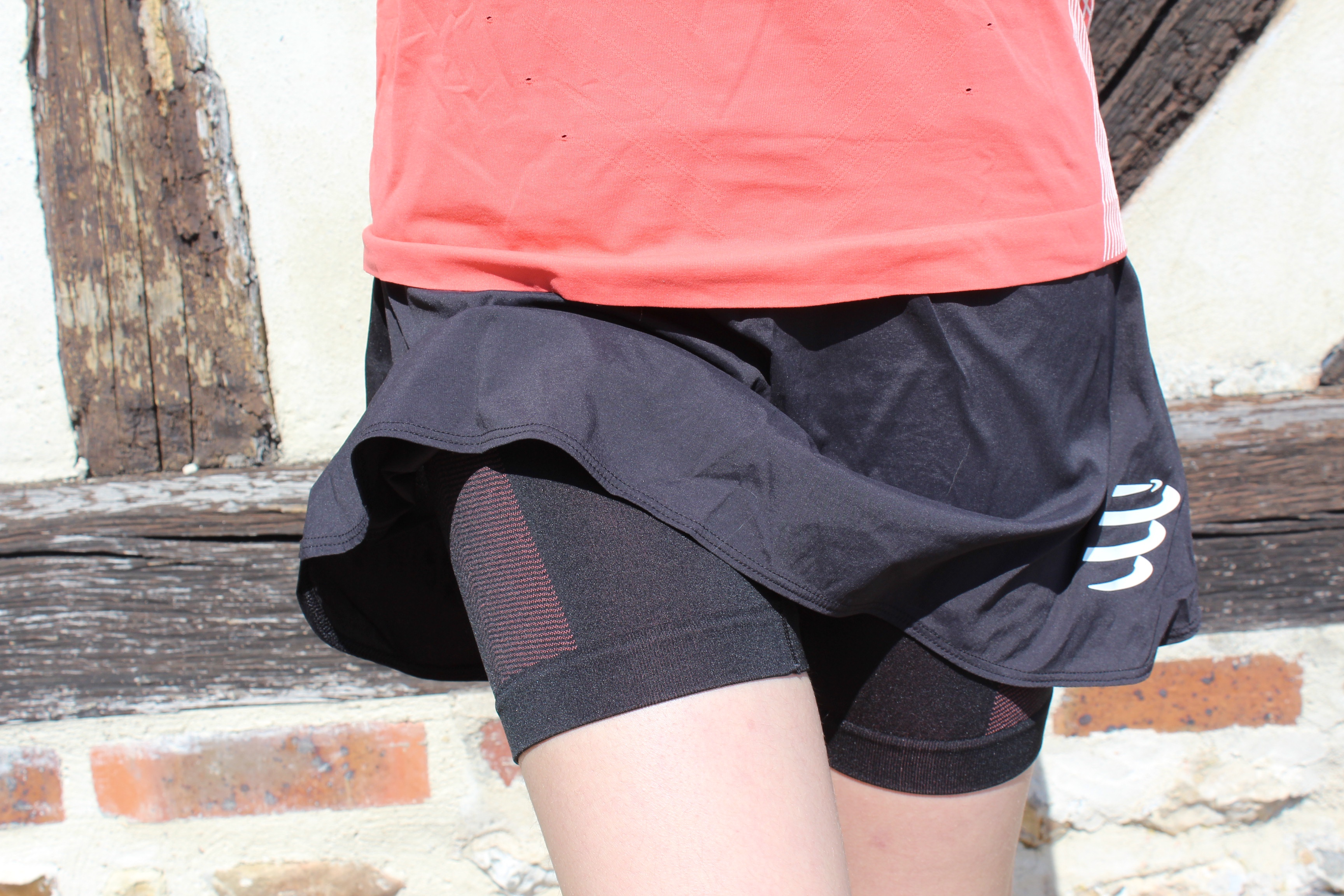 Skirt performance test Compressport Running femme